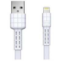 USB кабель REMAX Armor Series Cable RC-116i Lightning 8-pin (белый)