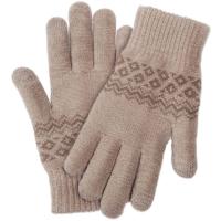 Перчатки Xiaomi Touch Screen Winter Wool Gloves (Бежевый)